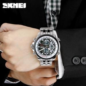 Image 5 - Skmei חם mens שעונים ספורט המותג למעלה mens עמיד למים לצפות קוורץ נירוסטה man שעוני יד relogio masculino