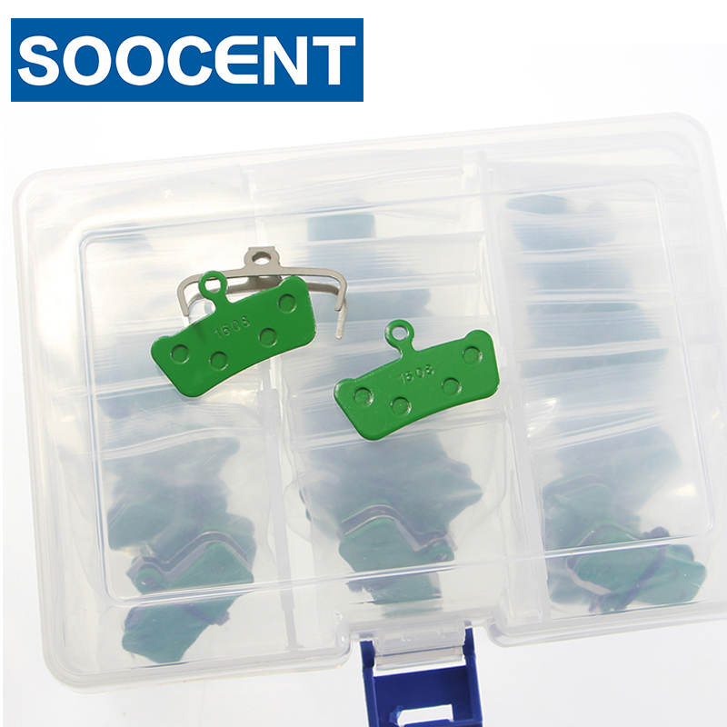 20 Pairs with Box Green Bicycle Disc Brake Pads for SRAM Avid X0 Trail for SRAM