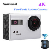 Sansnail F68 F68R Action Camera 4K Ultra HD Wifi 2 0 Inch Waterproof Sport Camera With