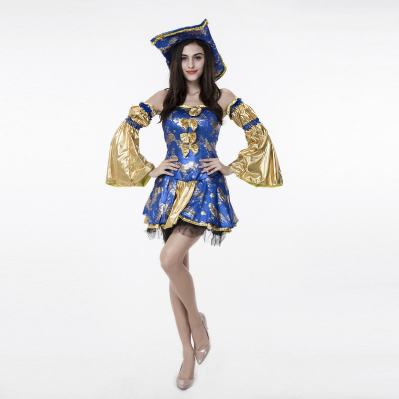 pirate costume woman adult female party pirates of the caribbean costume carnival sexy halloween costume for women plus size