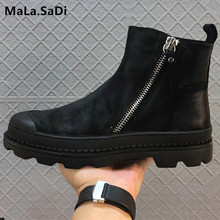 Winter Man Warm Fur Boots High Quality Army Combat Style Sneaker Genuine Leather Snow Men Black Flats Shoes Brand Ankle Boots mycolen men shoes high ankle luxury trainers genuine leather winter snow boots casual zip flats black man shoes bota