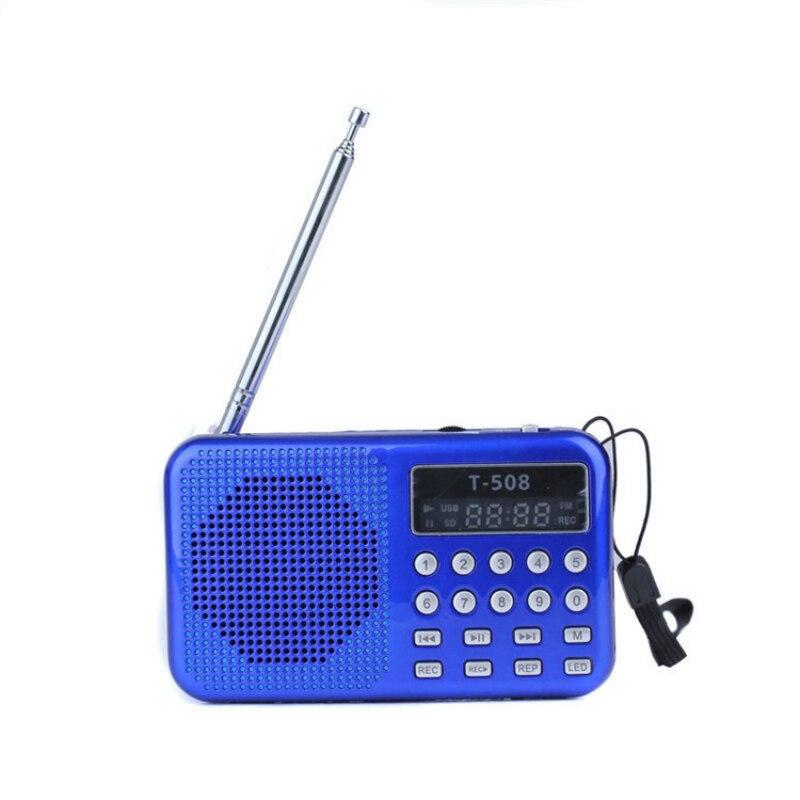 Mini Tragbare Dual Band Wiederaufladbare Digital Led Display Panel Stereo Fm Radio Lautsprecher Usb Tf Mirco Für Iphone Tablet Pc Mp3 Ein Unverzichtbares SouveräNes Heilmittel FüR Zuhause Tragbares Audio & Video
