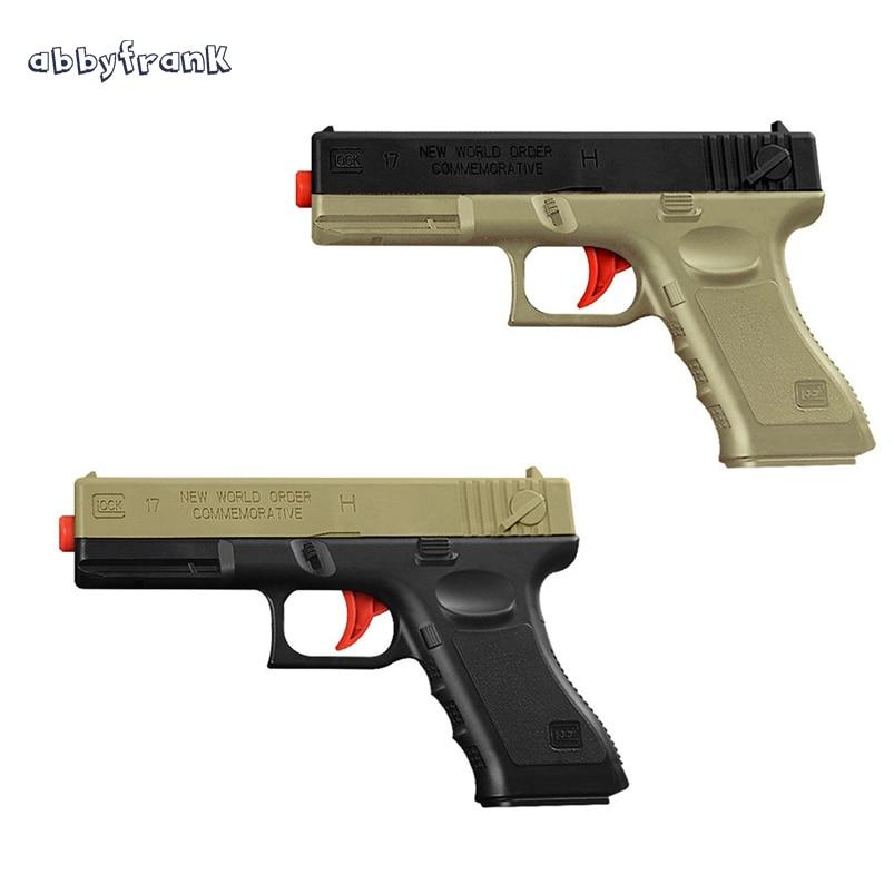 Abbyfrank Soft Water Bullets font b Toys b font Gun Plastic Safe Orbeez Gun Weapon Pistol