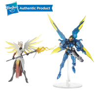 Hasbro Overwatch Ulitimates 6'' Mercy & Pharah Collectible Action Figures Hot Sale Popular In Market Suit For Age 4 Years Up