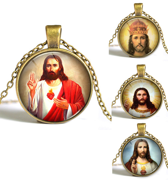 Necklace with Portrait of Jesus