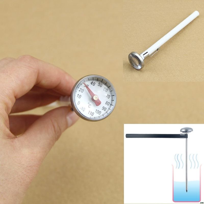 New Food Liquid Milk Bottle Thermometer Water Meter Oil Temperature Gauge 2 Colors