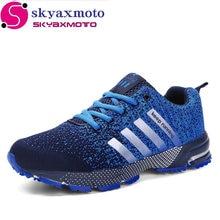2017 Hot sale Men Shoes Breathable  Casual Shoe For Men High quality Lightweight Laces Unisex Male shoes footwear Plus size35-46