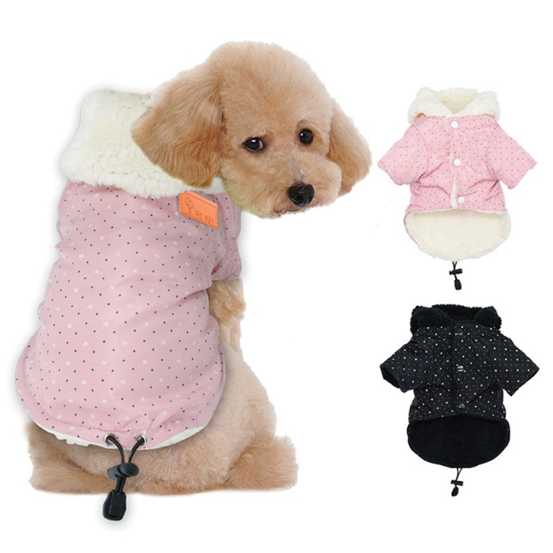 Best Sale Winter Pet Dog Clothes Warm Down Jacket Waterproof Coat S-XL Hoodies for Chihuahua Small Medium Dogs Puppy