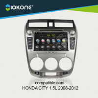 IOKONE Android 4 2 2 Car DVD Player For Honda City 1 5L 2008 2009 2010