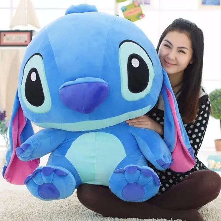 Anime 10-60cm Stitch Lilo & Stitch Plush Dolls Toy Soft Stuffed Animals Toys For Baby Kids Birthday Christmas Gift High Quality