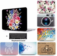 Print Laptop Protective Hard Shell Case Keyboard Cover Skin Set For 11 12 13 15Apple Macbook Air Pro Retina Touch Bar A1706 starry night oil painting sleeve for air 11 12 13 pro 13 15 retina crystal clear hard back cover protective case touch bar a1706