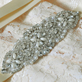 TOPQUEEN S76 Free Shipping Vintage Wedding Belts Sparking Crystal Rhinestone Bridal Belt Wedding Sashes Gorgeous Wedding Belts
