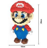 HC אבני קסם DIY בלוקים בלוקים נינטנדו סופר מריו אנימה בניין צעצועי ילדי מתנות צעצוע מודל מכירה פומבית HC9003