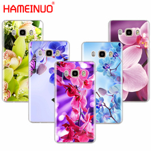 HAMEINUO Desktop wallpapers free orchids flower cover phone case for Samsung Galaxy J1 J2 J3 J5 J7 MINI ACE 2016 2015