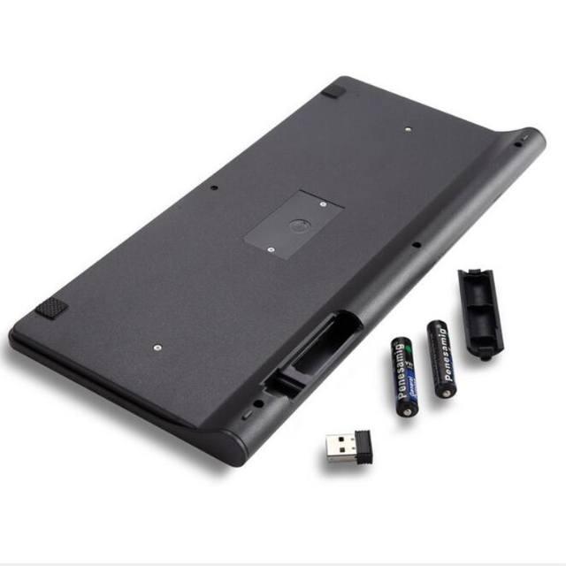 2.4G Mini Wireless Mouse and Keyboard Combo Set