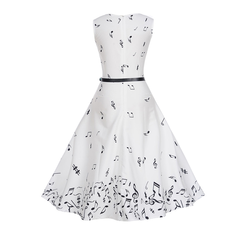 Long White Summer Dress