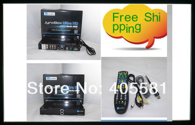 Wholesale new arrival  DVB-S2 HD Receiver JYNXBOX Ultra V3 For North America with wif JB200 8PSK Module + JA-ATSC Tuner +dongle