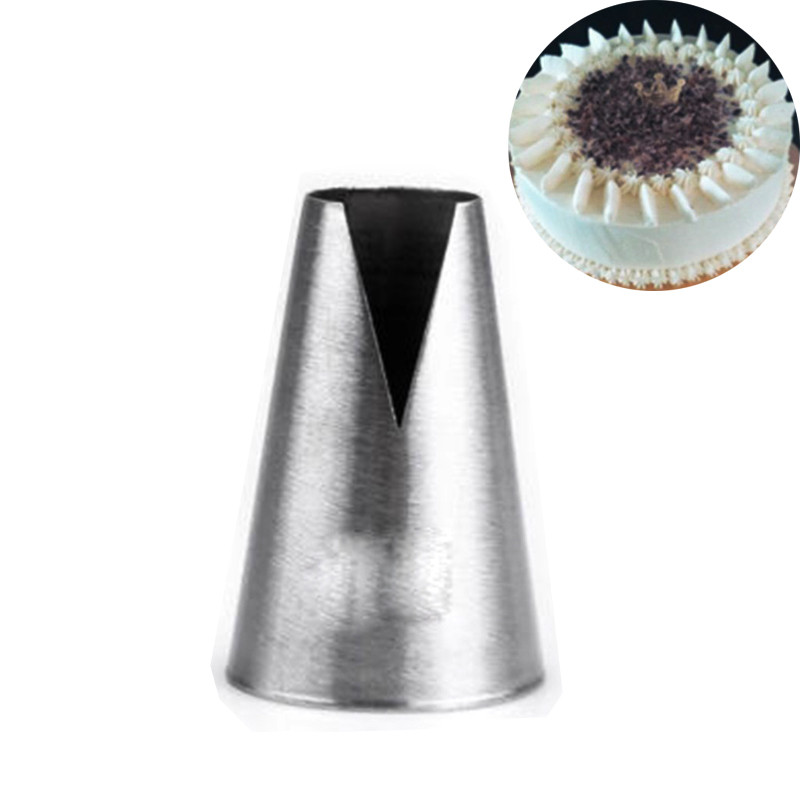 1Pcs High Quality Tulip Rose Flowers Icing Piping Nozzles DIY Cupcake Cream Decorating Baking tools Free Shipping