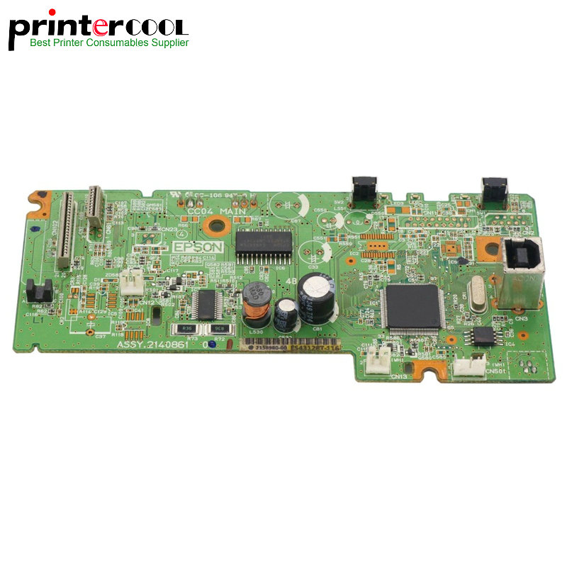 1pc 95% New Main board Formatter Board for Epson L365 L366 L375 printer Logic Mother Board pixma printer logic mother board for canon mx 898 mx898 formatter board main board qm3 0080