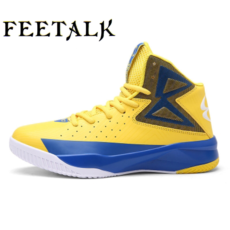 Newest Men/Women Basketball Shoes 2016 Male Boots Anti-slip outdoor Boys Sport Sneakers Plus Size EU 36-45 Free Shipping