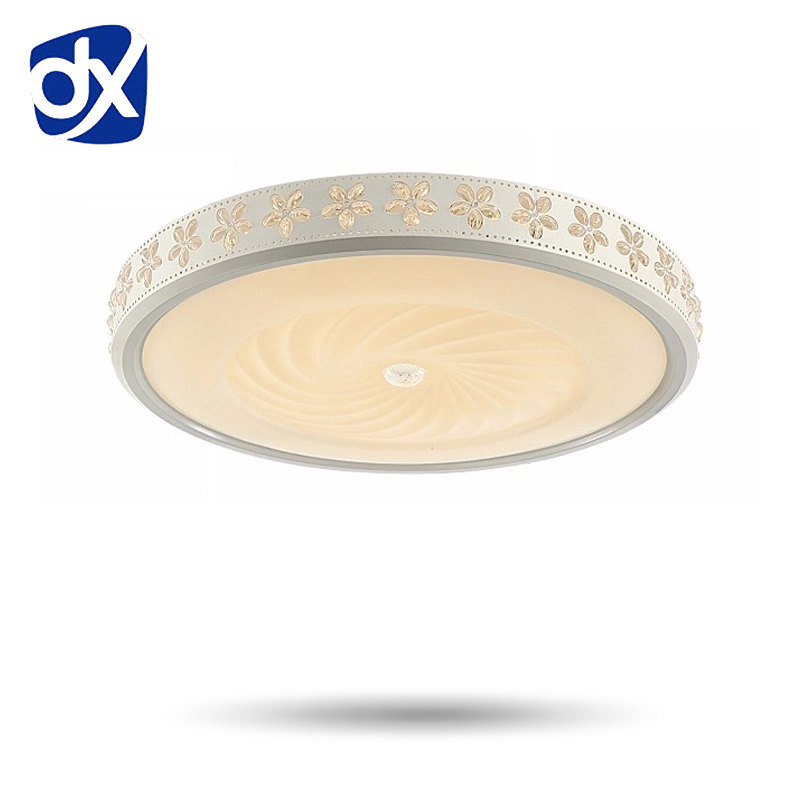 Flower Ceiling Light Indoor Lighting LED Luminaria Abajur Modern LED Ceiling Light For Living Room Lamp For Home Remote control