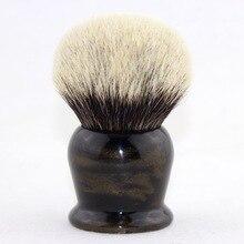 Frank Shaving(FS)-KING KNOT 40 мм# FI40-DG10, лучшая щетка для бритья барсука с ручкой фейерверка