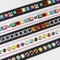 New arrival fashion Colorful rivet handbags belts women bags strap women bag accessory bags parts pu leather monster bag belt