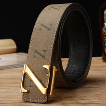 722150ed605 Casual Luxury Designer Classic Z Belts For Men 100% Real Leather Top AAA  Grade Famous