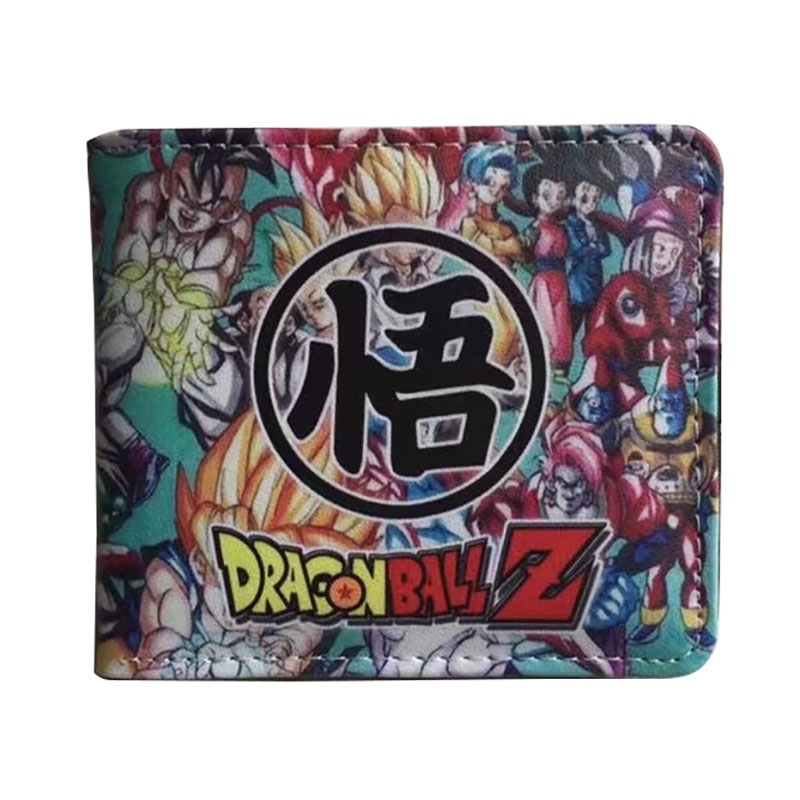 Anime Dragon Ball Z Wallets Japanese Cute Cartoon Fashion Leather Purse Dollar Price Card Holder Coin Pocket Gift Men Boy Wallet 2016 new arriving pu leather short wallet the price is right and grand theft auto new fashion anime cartoon purse cool billfold