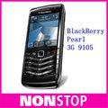 9105 abierto original blackberry pearl 9105 móvil del teléfono celular 3g wifi gps garantía de 1 año