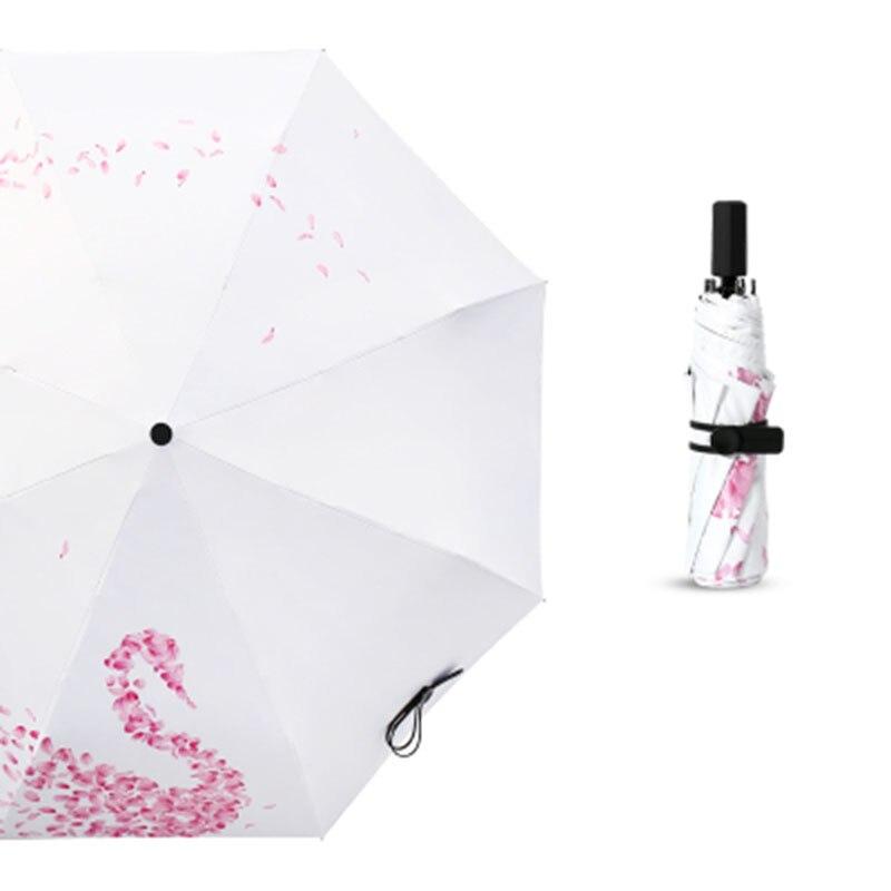 19f8aad3a620 Mini Umbrella Rain Women Automatic Folding Uv Anti Sun Windproof Parasol  Rain Umbrellas Pocket Paraguas Uv Small Capsule Girl745