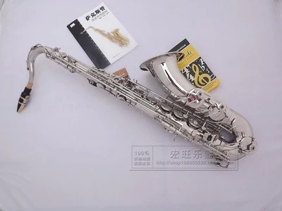 Free shipping EMS DHL tenor Saxophone R54 Professional degree nickel Silver Sax mouthpiece With Case and Accessories used in good condition bt 900 with free dhl ems