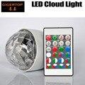 Gigertop TP-E38 Led Облако свет RGB пульт дистанционного управления E27/B22/E26 штуцер винт гнездо лампы красочное вращение освещение пластик