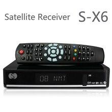 5 unids O Original X6 S X6 ayuda del receptor de satélite 2 xUSB puerto PVR listo VFD display Cccamd Newcamd Youporn
