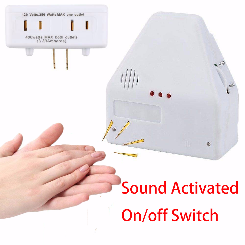 Pop Sound Activated On/off Switch Smart Home Kit Homekit By Hand Clap 110/220V