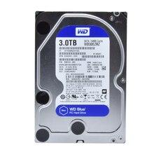 Western Digital WD синий 3 ТБ HDD SATA 3.5 дюймов внутренний жесткий диск Desktop внутреннего HDD 5400 об./мин. SATA 6 ГБ/сек. кэш 64 МБ hdd диск