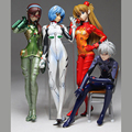 High quality new anime action figure  Evangelion EVA Collection dolls smoked high 8 cm figure  send in random 1PC