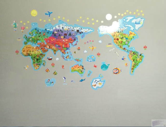 Cartoon world map wallpaper hd wallpaper wallpapers from home source online shop rice cartoon world map of the world large children gumiabroncs Choice Image