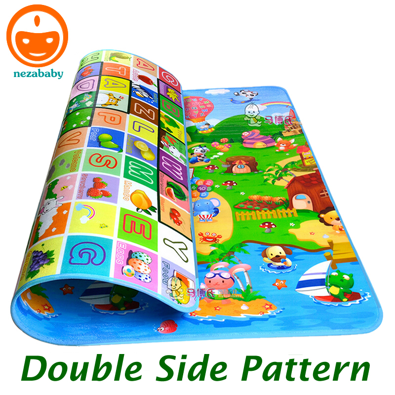 2 Meters Double Side Large Baby Play Mat Baby Activity Mat Child Crawling Mat Baby Floor Mat Cartoon Baby Blanket Rug PX02 фронтальная панель santek монако 160 см 1wh112078