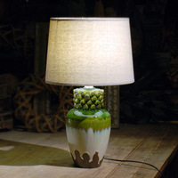 TUDA 30 5X53cm Free Shipping Creative Design Ceramic Table Lamp Modern Chinese Style Table Lamp Home