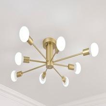 Led moderno lustre de iluminação do teto lâmpada pendurada para sala estar quarto 8 e27 bulbo casa tubos lustres luminárias teto