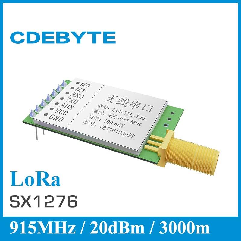 bilder für Freies Verschiffen Ebyte SX1278 SX1276 lora 915 mhz modul E44-TTL-100 3 km 20dBm 900 mhz drahtlose uart modul