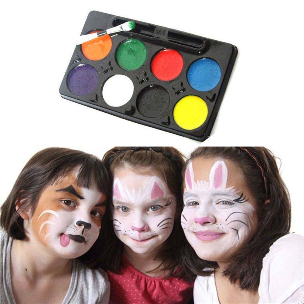 DIY Make Up COSPLAY Clown Painting Palette Face Body Paint ...