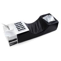 Eyelash Extension Pillow Shelf Memory Foam Lash Pillow Cosmetics Tools Grafting Eyelashes Pillows Flannel PU Neck MakeUp Tool