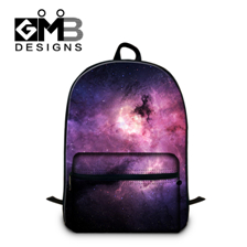 Galaxy Star Universe Space Cotton Laptop Computer Backpack Kids School Bags (5)