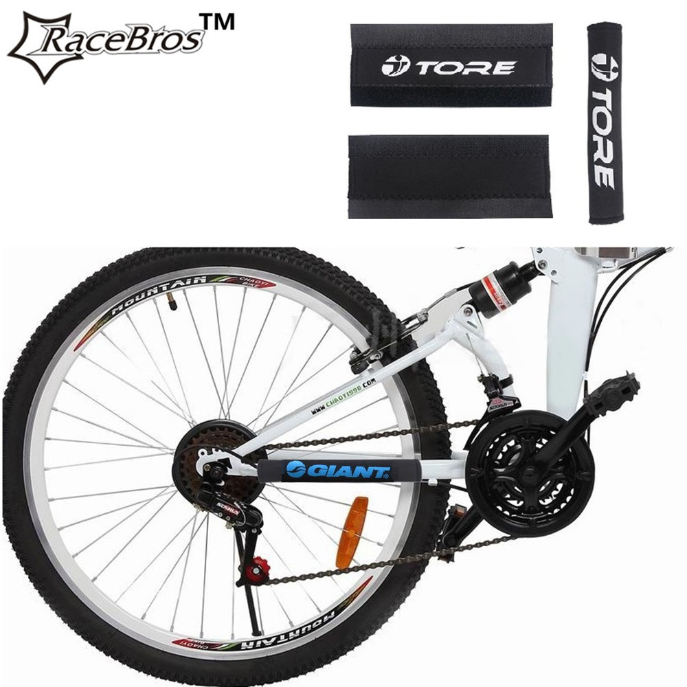 Reflective Chain Protector Mountain Bike Frame stickers ...
