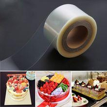 Практичный мусс для края торта обертывание десерт окружающий жесткий переплет для края торта s PET пластиковая лента DIY упаковка для выпечки украшения инструменты