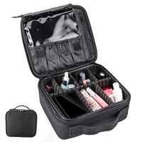 Large Women Travel Cosmetic Cases Professional Toiletry Bag Ladies Make Up Bag Wash Organizer Cosmetic Bags