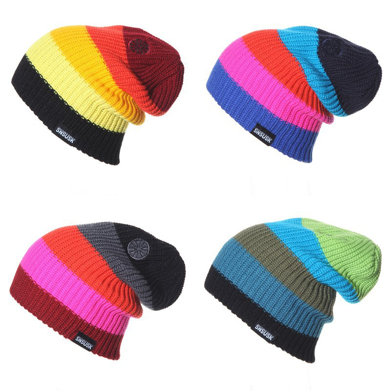 d9e1098d1a742 8.938.5011.5611.565.958.4211.9011.56. 2018 nuevo invierno gorros marca  SNSUSK Snowboard invierno esquí sombrero patinaje lote gorras skullies y gorros  para ...