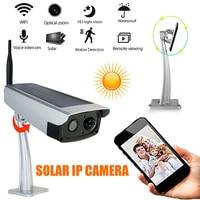 HD 1080P Solar Power WIFI IP Camera Wireless 2MP Camera Waterproof Outdoor Surveillance Anti theft Security Camera